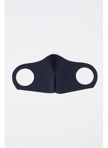 DeFacto Yıkanabilir Maske Lacivert